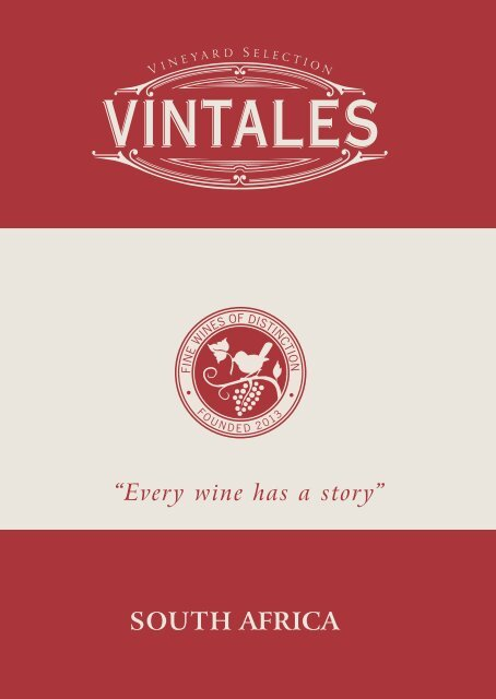 Vintales - Every wine has a story