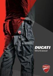 Ducati Workwear - Catalogo 2017