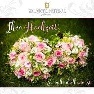 Hochzeits-Magazin Waldhotel National