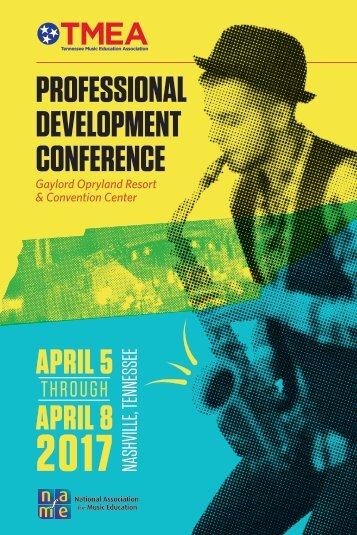 TMEA Conference Program 2017