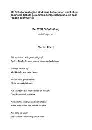 Martin Ebert - Realschule Dissen