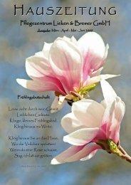 Hauszeitung Frühling 2009