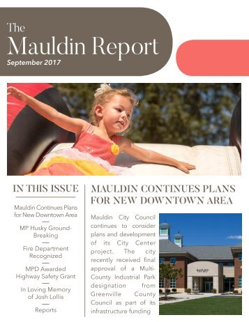 September 2017 Mauldin Report