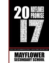 Mayflower 2017 artwork
