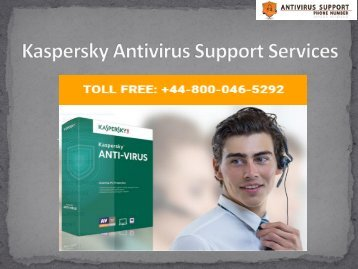 +44-800-046-5292 Kaspersky Antivirus Support Services