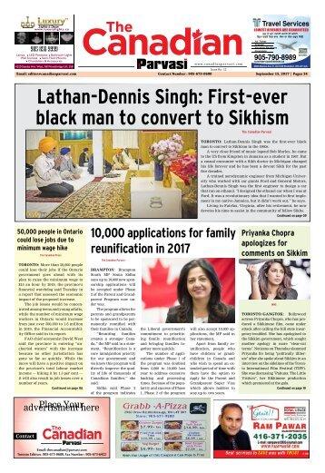 The Canadian Parvasi - Issue 12