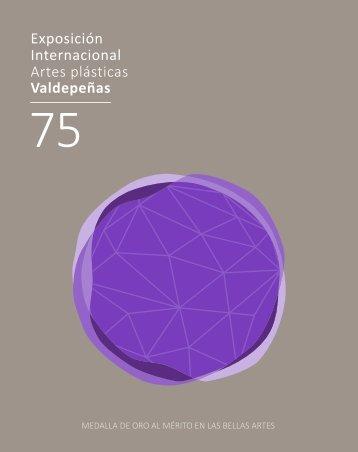 Catalogo 75 Exposición Internacional de Artes Plásticas