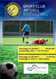 SPORT-CLUB AKTUELL - SAISON 17/18 - AUSGABE 4
