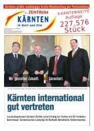 Ausgabe 03.2009 (PDF-Format, ca. 3,2 MB - Zentrum Kärnten in ...