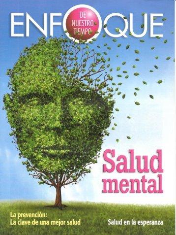 Enfoque de Nuestro Tiempo Septiembre 2016 - Salud Mental