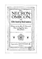 Al Azif - Necronomicon [espanol argentina] - Page 2