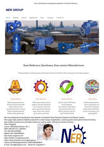 Cycloid gear reducer,cycloidal transmission drive