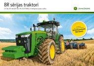 8R sērijas traktori - DOJUS agro