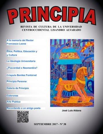 PRINCIPIA No 38