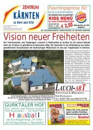 Ausgabe 02.2006 (PDF-Format, ca. 1,2 MB - Zentrum Kärnten in ...