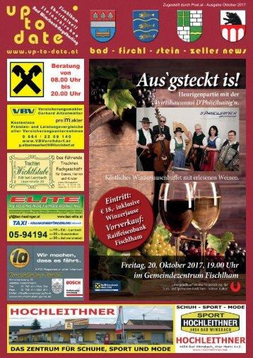 bad-fischl-stein-zeller news -Oktober 2017