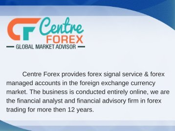 Professional Forex Signal Provider_centreforex