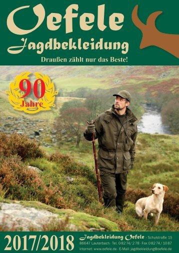 Jagdbekleidung Oefele Katalog 2017/2018