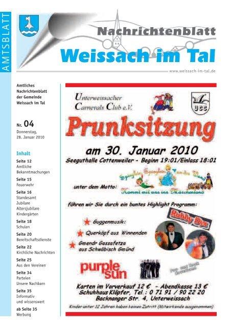 Clubs & Diskotheken Weissach im Tal | Nachtleben & Party