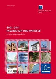 2001–2011 Faszination des Wandels - Liegenschaftsfonds Berlin
