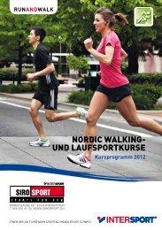 NORDIC WALKING- UND LAUFSPORTKURSE