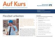 Flexibel arbeiten - Raiffeisenbank Neustadt-Vohenstrauß eG