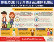 10 Reasons To Stay In A Vacation Rental