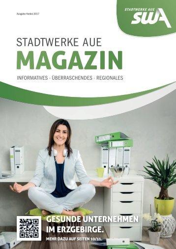 Kundenmagazin der STADTWERKE AUE