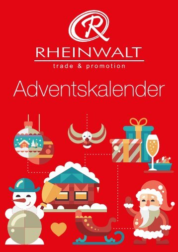 RHEINWALT GmbH - Katalog Adventskalender