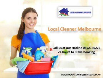Local Cleaner Melbourne - Local Cleaning Services
