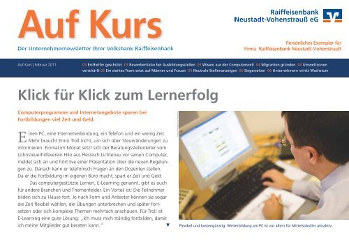 Klick für Klick zum Lernerfolg - Raiffeisenbank Neustadt ...