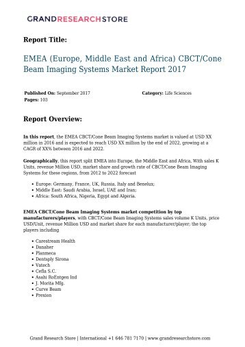 emea-europe-middle-east-and-africa-cbct2Fcone-beam-imaging-systems-market-report-2017-851-grandresearchstore