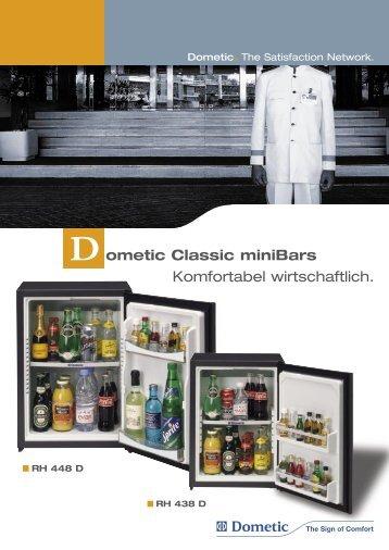 Dometic Classic miniBars Komfortabel wirtschaftlich.