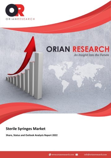 Sterile Syringes Market Research Report 2022