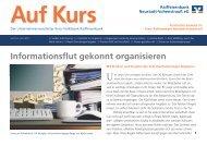 Informationsflut gekonnt organisieren - Raiffeisenbank Neustadt ...