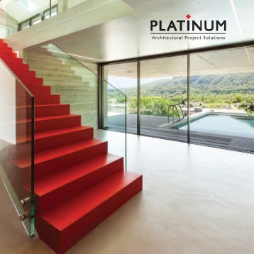 Architectural Brochure Platinum
