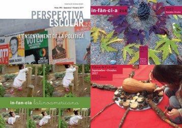 Fes un tast de les revistes Infància. Infancia i Perspectiva Escolar