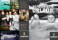 Hotel Zugbrücke: Arrangements 2018