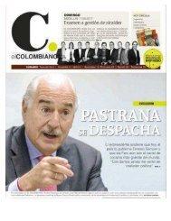 Entrevista del periódico El Colombiano al expresidente Andrés Pastrana