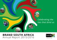 Brand-South Africa - Annual report 2015 - 2016