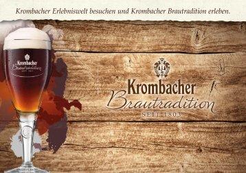 Krombacher Brautradition