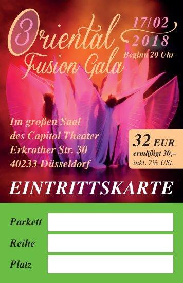 Eintrittskarten Fusion Gala