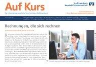 Rechnungen, die sich rechnen - Raiffeisenbank Neustadt ...