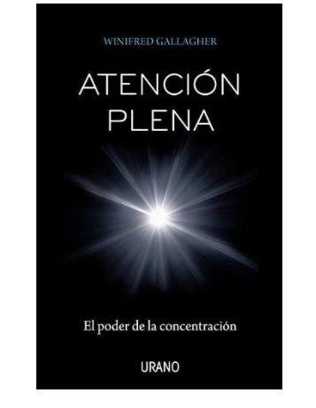 ATENCION PLENA. EL PODER DE LA CONCENTRACION