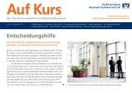 Entscheidungshilfe - Raiffeisenbank Neustadt-Vohenstrauß eG