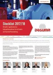 DEGUMA Stocklist 2017-18 - deutsch
