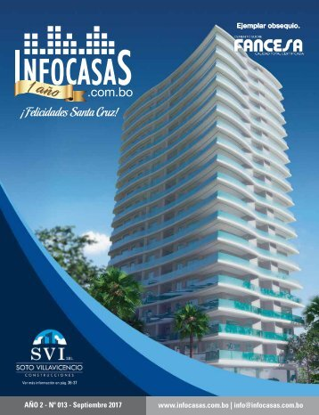 Revista InfoCasas Septiembre 2017