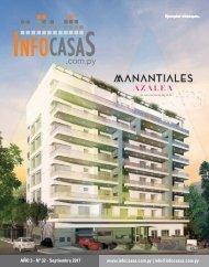 Revista InfoCasas Paraguay Setiembre 2017