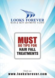 MUST DO TIPS FOR HAIR FALL TREATMENT