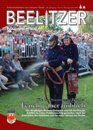 Beelitzer Nachrichten - September 2017